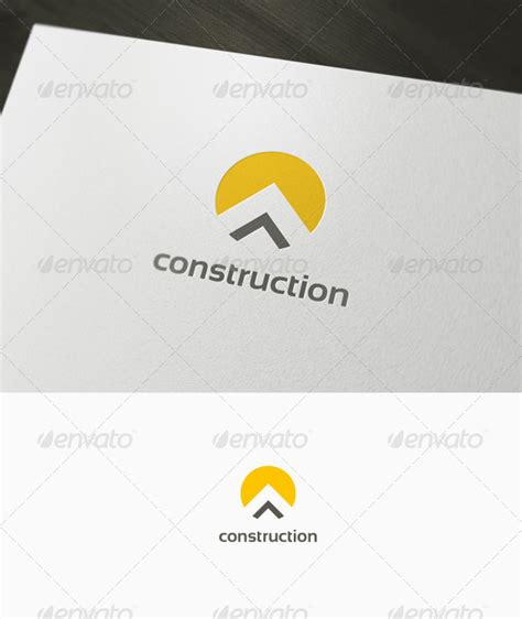 construction logo by domibit graphicriver