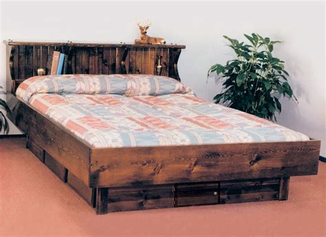 water bed for sale waterbed pinewood complete hb fr deck ped k king pine