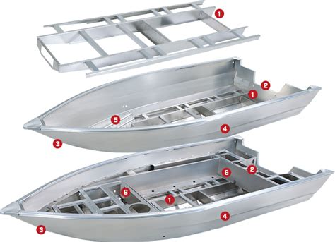 aluminum bass boat hull design tracker quality construction