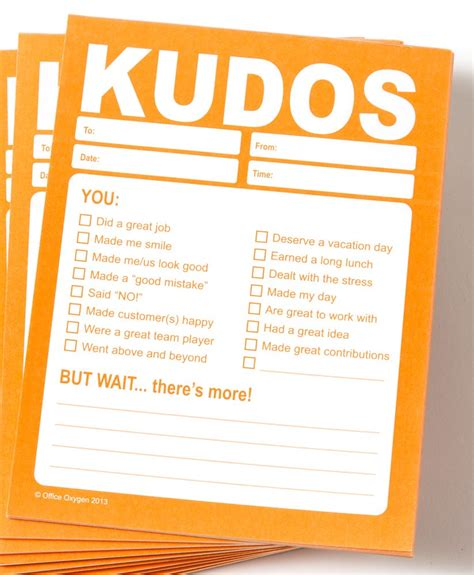 kudos card template kudos kit set of 32 kudos items