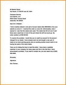 Complaint Letter Format And Sle Formal Complaint Letter 25 Images Free Complaint Letter Template 20 Free Word Pdf Documents