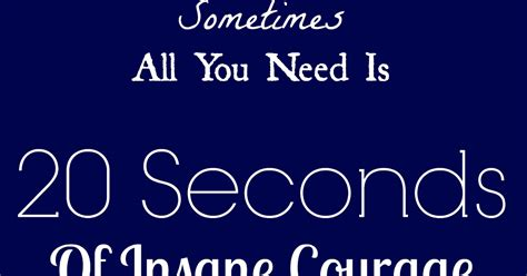 10 seconds of courage books miss becca wednesdays word 20 seconds of
