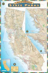california state park map california state parks maps solutions