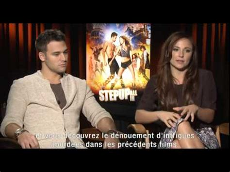 film up cast step up all in interview cast youtube