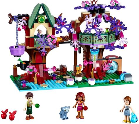 lego elves tutorial 41075 1 the elves treetop hideaway brickset lego set