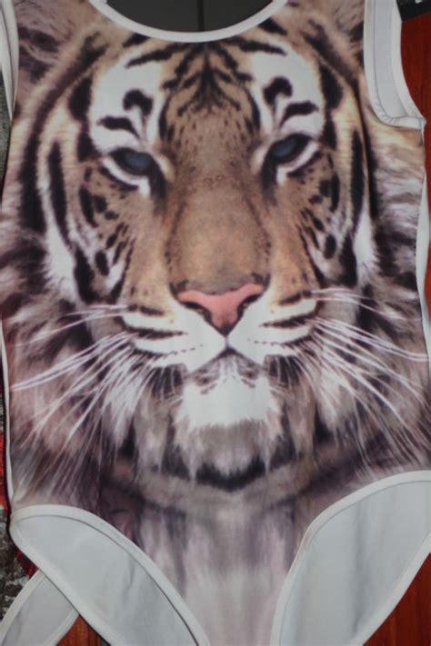 Primsek Tiger tiger cosmic eagle or uk flag bodysuit top leotard uk 6