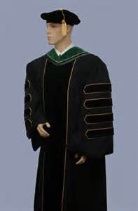 phd cap and gown doctoral cap and gown and tam and for academic regalia