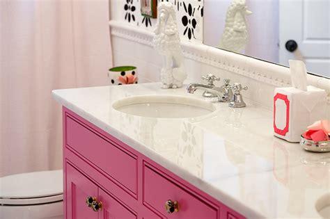 bathroom ideas pink pink vanity contemporary bathroom colordrunk design