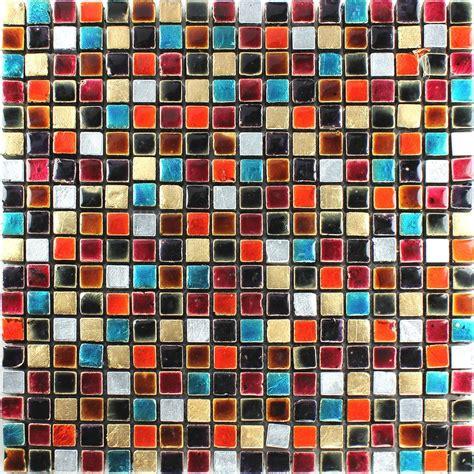 fliesen bunt mosaikfliesen glas bunt mix 15x15x8mm ht88365m