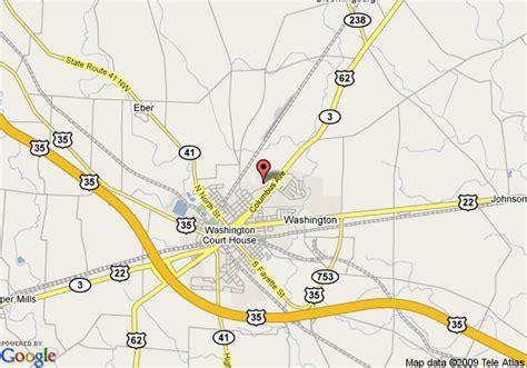 washington court house ohio map of country hearth inn washington courthouse washington court house