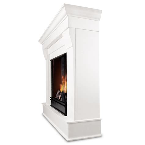 Sun Gel Fireplace Fuel by Real Chateau Ventless Gel Fireplace In White