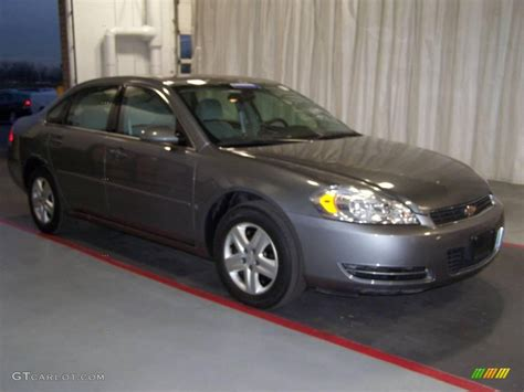 2006 silver impala 2006 silver metallic chevrolet impala ls 21212438