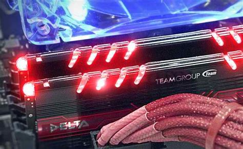 ddr4 ram with led lights team delta ddr4 3000mhz red led 2x8gb 16gb kit review
