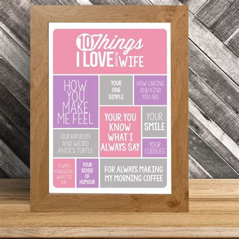 love   wife poster find   gift