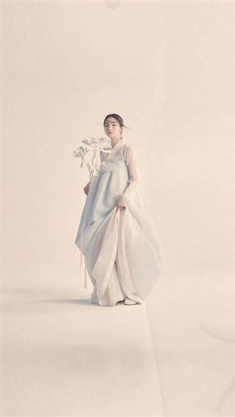 hp korean hanbok dress traditional girl asian wallpaper