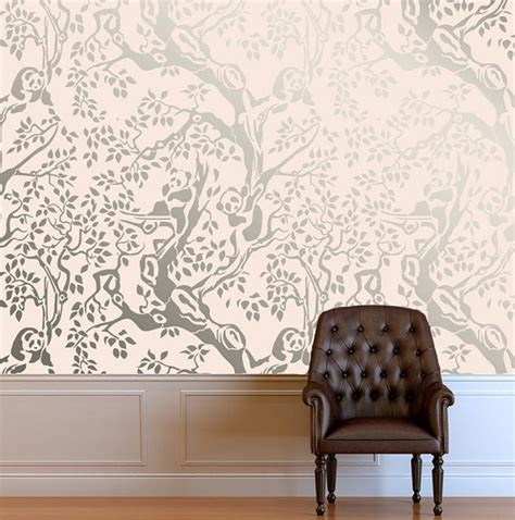 wall stencils for bedrooms 1000 images about panda room on pinterest canvas prints