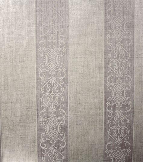 Wallpaper Kitchen Ideas French Stripes Grey Light Purple Wallpaper Home Paint