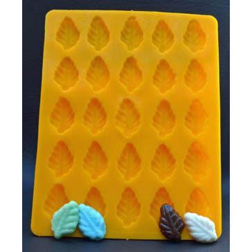 Leaf Flexible Rubber Candy Mold   91 10   Country Kitchen