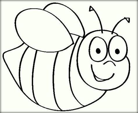 bee color bee coloring pages for color zini