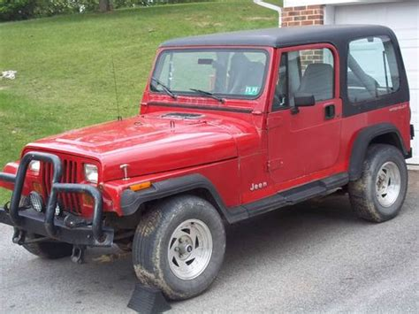 Jeep Parts Virginia Buy Used 1991 Jeep Wrangler Project Or For Parts In
