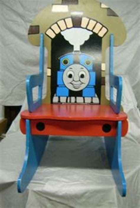 thomas the tank armchair thomas the tank train engine wood wooden toddler rocking