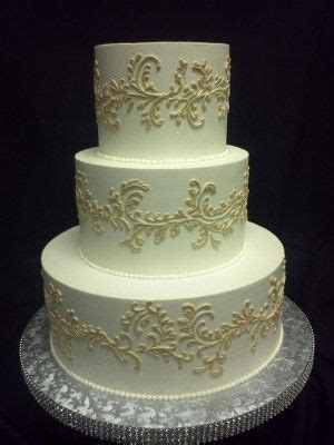 White On White Buttercream Scroll 17 Best Ideas About Scroll Wedding Cake On