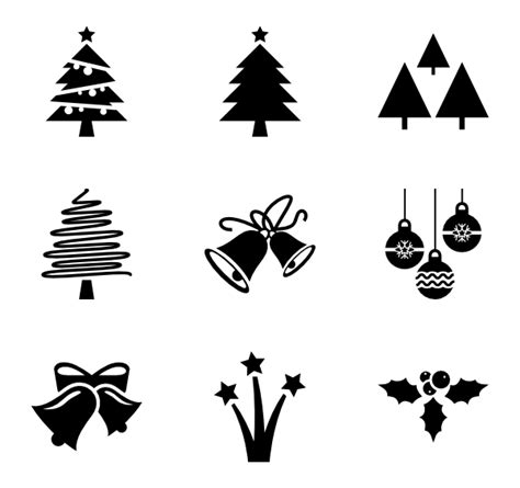 Chrismast Ikon tree icons 1 010 free vector icons