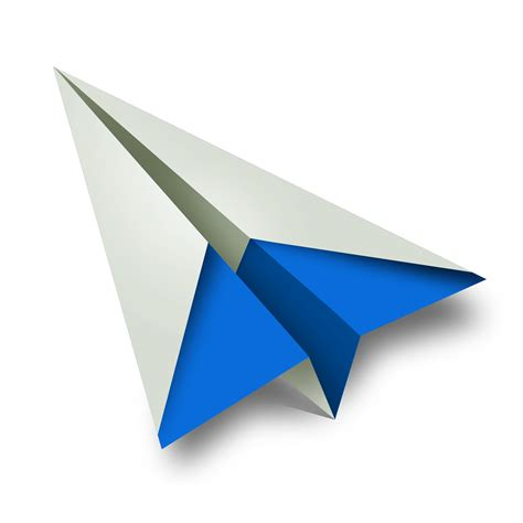 Paper Flight - paper airplane png clipart free images in png