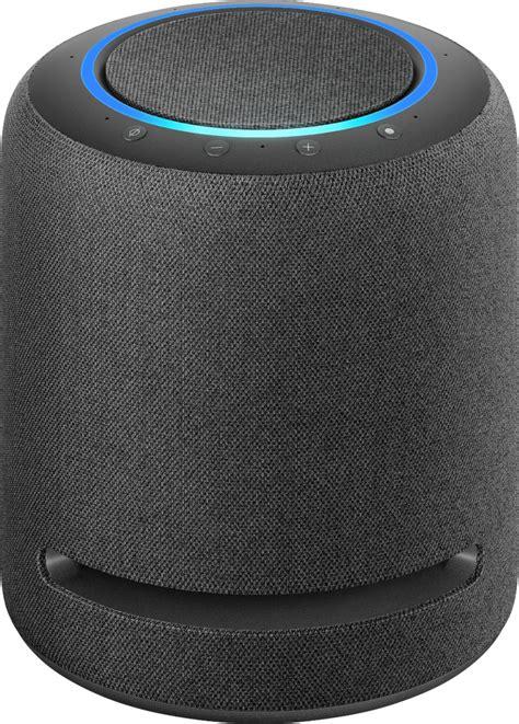 amazon echo studio smart speaker  alexa charcoal bgyzmc  buy