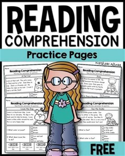 reading comprehension test practice free texts clip art and the text on pinterest
