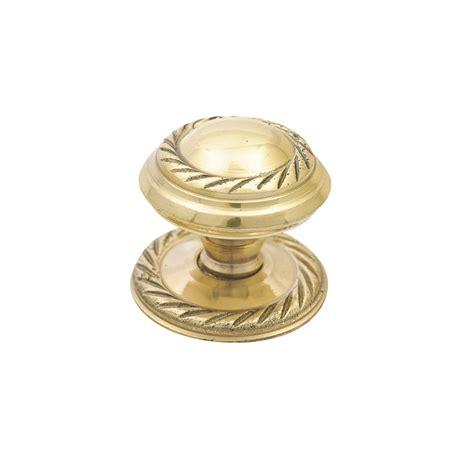 prestige 48mm georgian brass knob bunnings warehouse