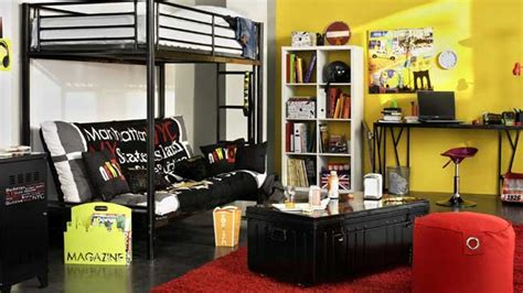 deco urbaine chambre ado de la couleur dans la chambre d ado