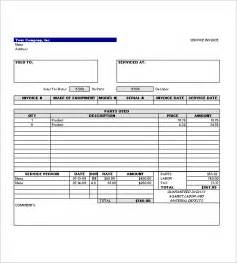 template pdf service invoice templates 11 free word excel pdf