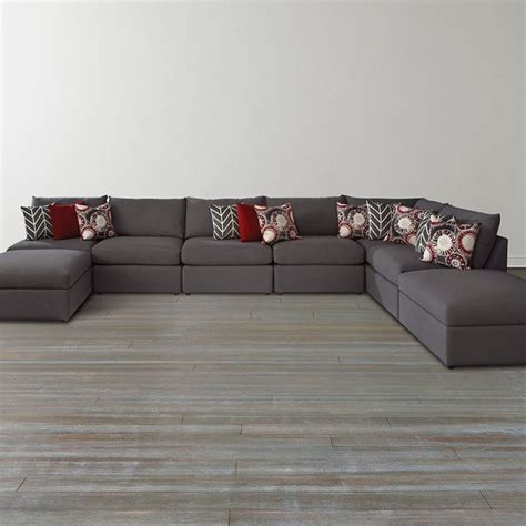 Bassett Furniture Sectional Sofas Beckham U Shaped Sectional By Bassett Furniture Sectional Sofas Raleigh By Bassett Furniture