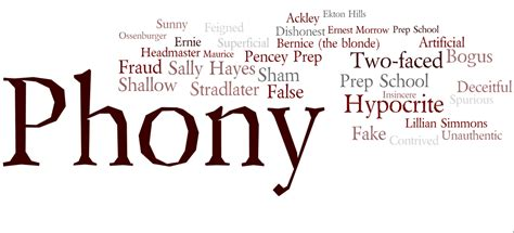 catcher in the rye theme of phoniness catcher in the rye wordle jesper s honors english 10 blog