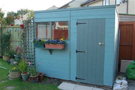 how to paint wooden sheds garden buildings direct
