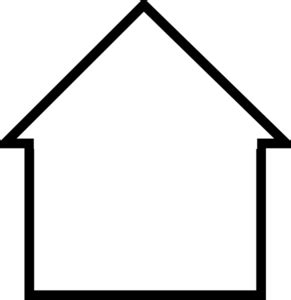 house outline clipart black and white free hanslodge