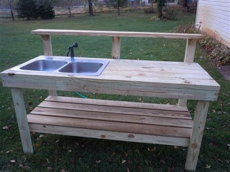 diy outdoor sink station outdoor sinks stations for water hose the best part of