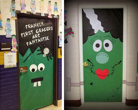 decorar aula halloween 12 ideas para decorar la puerta de clase en halloween