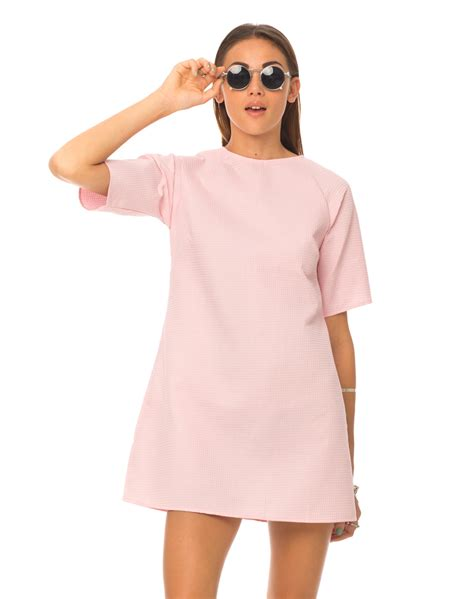 Dress Of The Day B With G Baby Doll Dress 2 by Buy Motel Reggie Shift Dress In Baby Pink At Motel Rocks