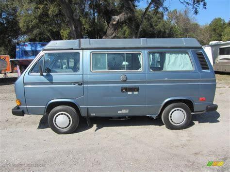 volkswagen vanagon blue dove blue metallic 1987 volkswagen vanagon gl cer
