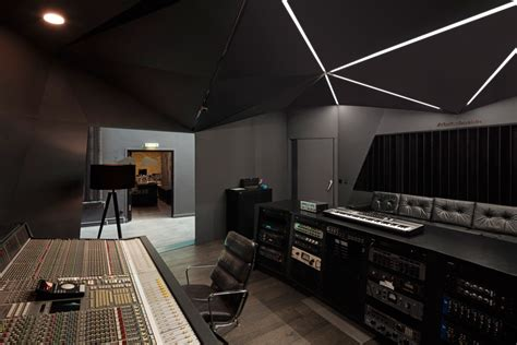 red house design studio jingdezhen optimist design creates red bull music studio inside