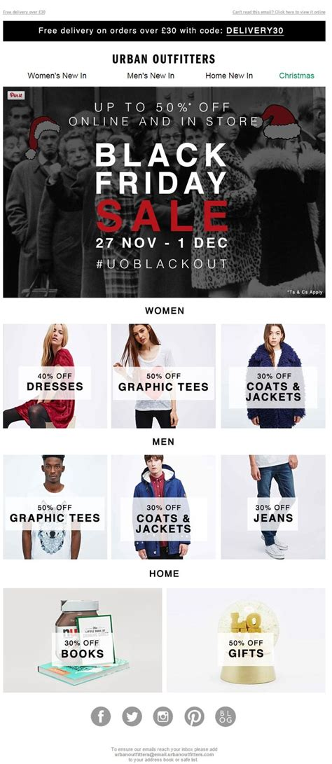 email format urban outfitters 71 best images about holiday email marketing on pinterest