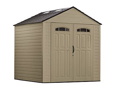 Rubbermaid Roughneck Shed Assembly by Roughneck 174 X Large Storage Shed 7ft X 7ft Discontinued Rubbermaid