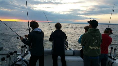 erie pa charter boat association another busy morning with jake and the blacktop