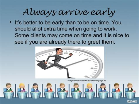 always come on time books how to be a employee to get more opportunities in
