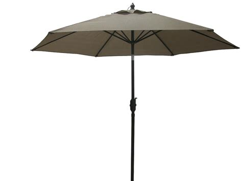 Sears Patio Umbrellas Garden Oasis Grandview 9 Ft Market Umbrella