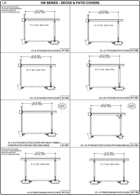 patio structure plans woodwork building plans patio cover pdf plans
