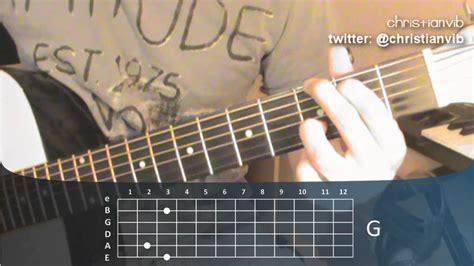 youtube tutorial de guitarra acustica c 243 mo tocar guitarra ac 250 stica leccion 6 acorde de sol