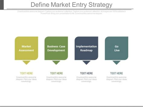 define market entry strategy ppt slides powerpoint templates